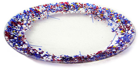 DNAGE Glass Art Bowl - Judith Menges