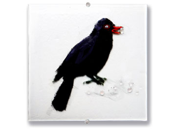 Blackbird art - Judith Menges