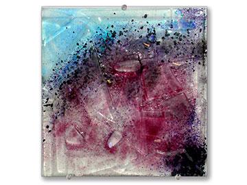 Lepidolite square bowl - Judith Menges