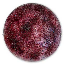Star Ruby Glass Art Gemstone - Judith Menges